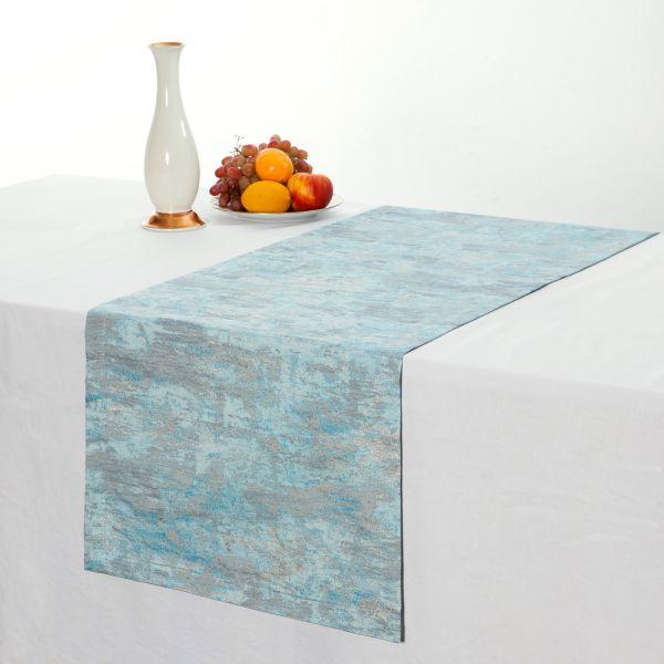 """Tischläufer Tischband """"Jacquard"""" 40x140 cm in 2 verschiedenen Farben"""