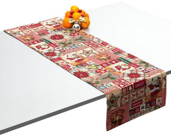 """Tischläufer Tischband 40x140cm Weihnachten Gobelin Dessin:""""Xmas"""""""