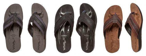 Herren Sandale Zehentrenner in 3 Farben und 6 Größen